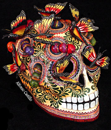 day of the dead skull 1