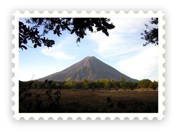 Volcan Concepcion Stamp