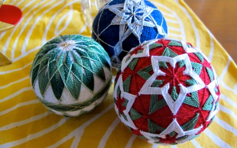 temari collection christmas 2012